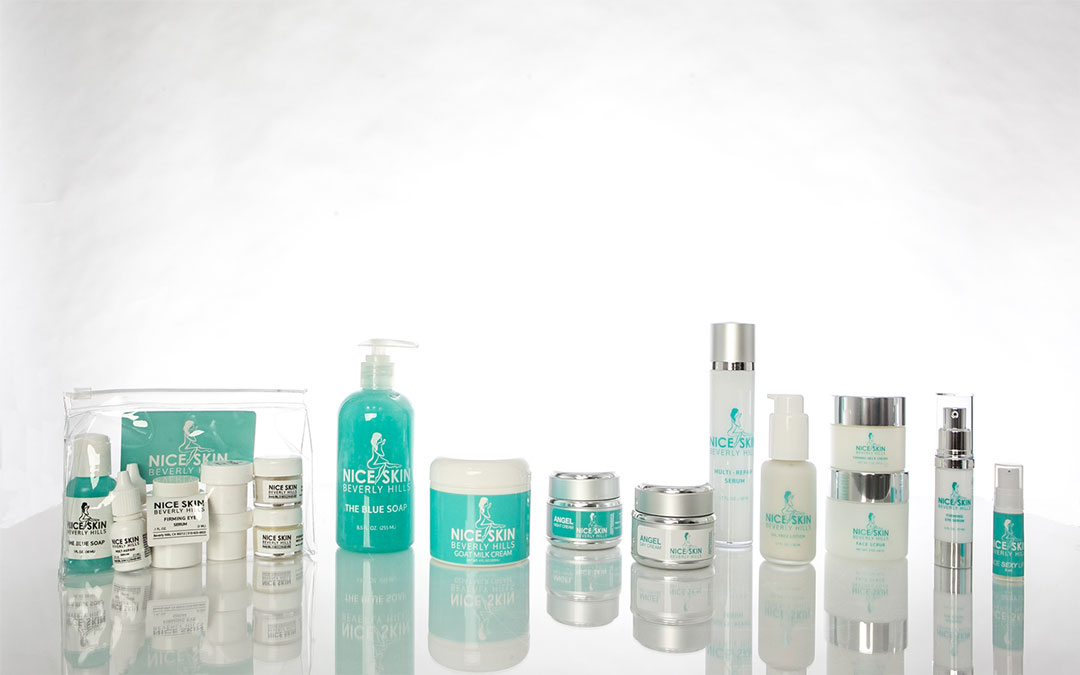 The New Line of Nice Skin Beverly Hills Products